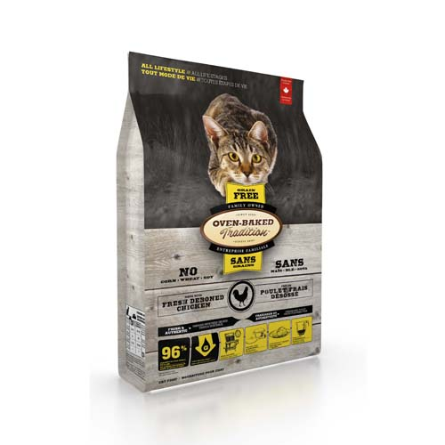 OBT Oven-Baked Tradition Cat All Life Stage Grain Free Chicken 2,27 kg