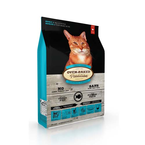 OBT Oven-Baked Tradition Cat Adult Fish 1,13 kg