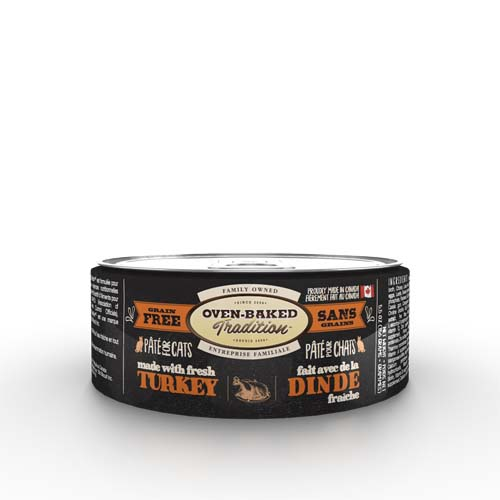 OBT Oven-Baked Tradition Pate TURKEY adult cat 156g moriak