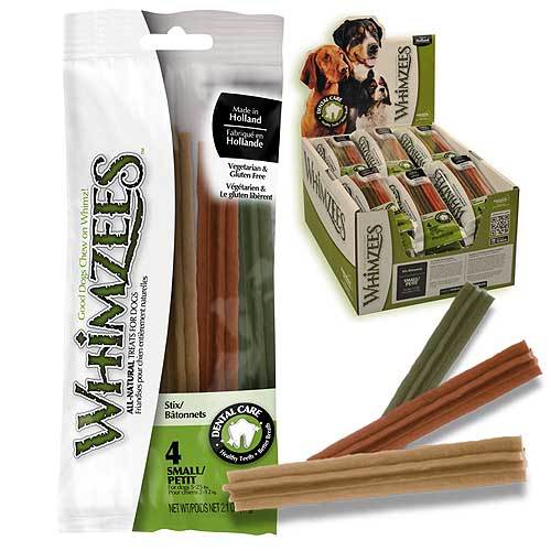 WHIMZEES Flow Wrap Stixs  S 11,9cm / 15g 4ks/60g