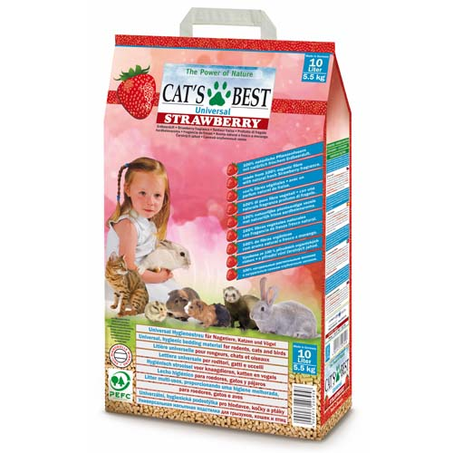 JRS Cat´s best Universal Strawberry 10l/5,5kg