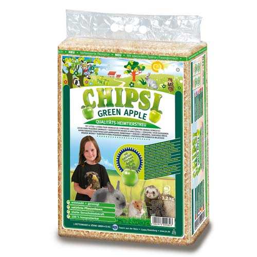 JRS Chipsi Green apple 60l/3,2kg