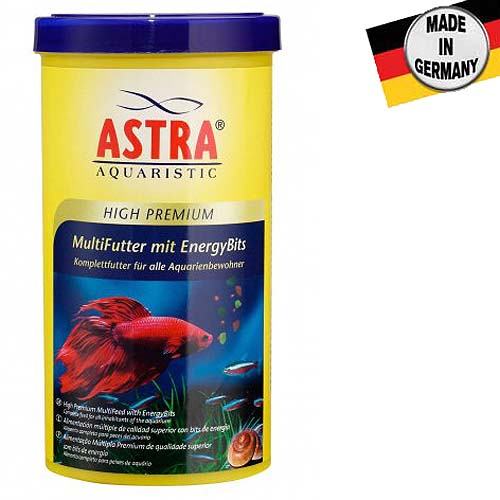 ASTRA HIGH PREMIUM MULTIFUTTER MIT ENERGY BITS  250 ml