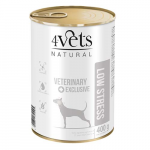 4Vets NATURAL VETERINARY EXCLUSIVE LOW STRESS 400g dog