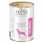 4Vets NATURAL VETERINARY EXCLUSIVE DIABETES 400g dog