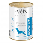 4Vets NATURAL VETERINARY EXCLUSIVE SKIN SUPPORT 400g dog