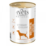 4Vets NATURAL VETERINARY EXCLUSIVE WEIGHT REDUCTION 400g dog