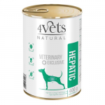4Vets NATURAL VETERINARY EXCLUSIVE HEPATIC 400g dog