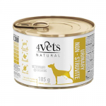 4Vets NATURAL VETERINARY EXCLUSIVE URINARY SUPPORT 185g dog