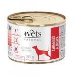 4Vets NATURAL VETERINARY EXCLUSIVE KIDNEY SUPPORT 185g dog