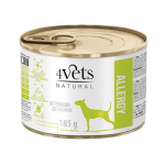 4Vets NATURAL VETERINARY EXCLUSIVE ALLERGY Lamb 185g dog
