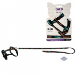 EBI D&D Cat-Walk 30,51cm/100cm L Original Harness black postroj s vodidlom