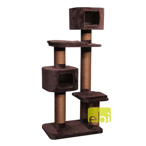 EBI TREND CAT-ROCK WESTERN 70x50x160cm chocolate-brown