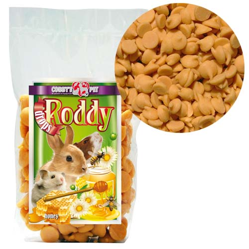 COBBYS PET RODDY DROPS Honey medové 100g
