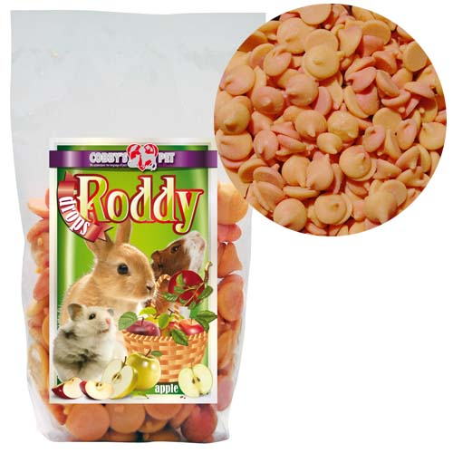 COBBYS PET RODDY DROPS Apple jablko 100g