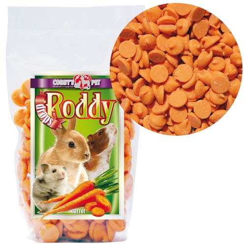 COBBYS PET RODDY DROPS Carrot s mrkvou 100g