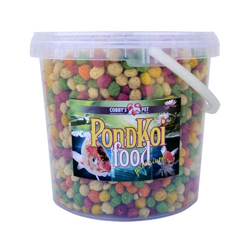 COBBYS PET POND GRANULES COLOUR XXL 2,5l