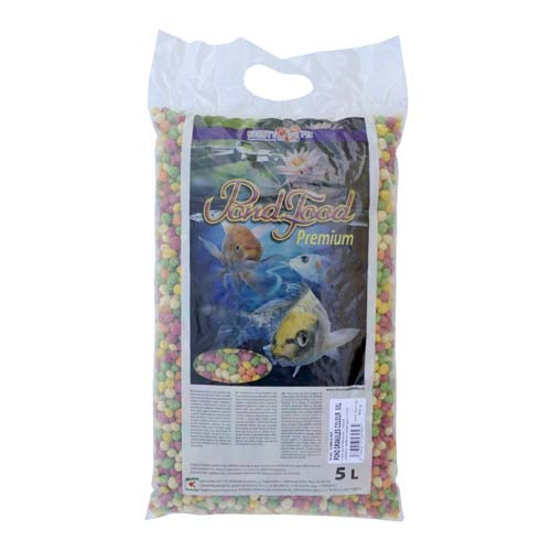 COBBYS PET POND GRANULES COLOUR XXL 5l  (1,10kg)