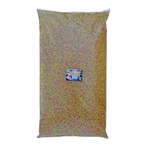 COBBYS PET POND GRANULES COLOUR SMALL 36l