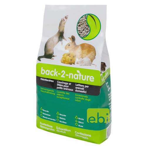EBI back2nature 3,5l  Small Animal Bedding
