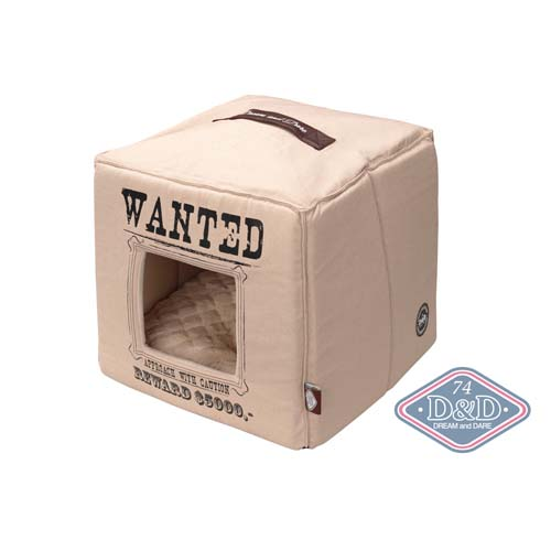 EBI D&D HOMECOLLECTION WANTED PET-CUBE BEIGE, 40X40X40cm