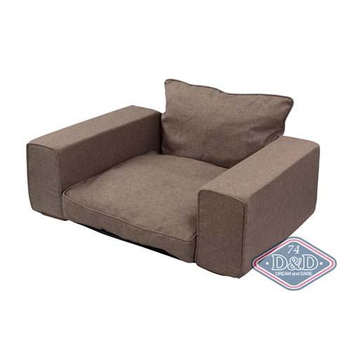 EBI D&D HOMECOLLECTION RESERVED PET-SOFA TAUPE, 95X65X45cm