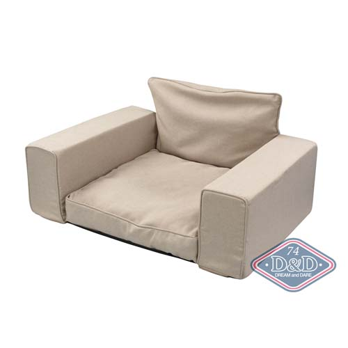 EBI D&D HOMECOLLECTION RESERVED PET-SOFA beige 95X65X45cm