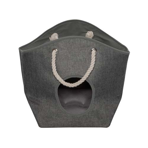 EBI D&D HOMECOLLECTION PET-CAVE LAUNDRY BAG GREY 27x24x38cm