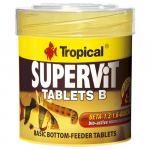 TROPICAL Supervit Tablets B 50ml/36g 200ks krmivo pre ryby dna