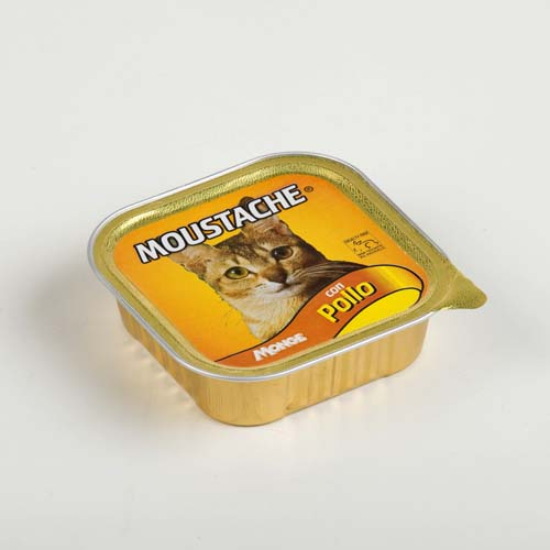 MOUSTACHE Cat Pate kura 100g