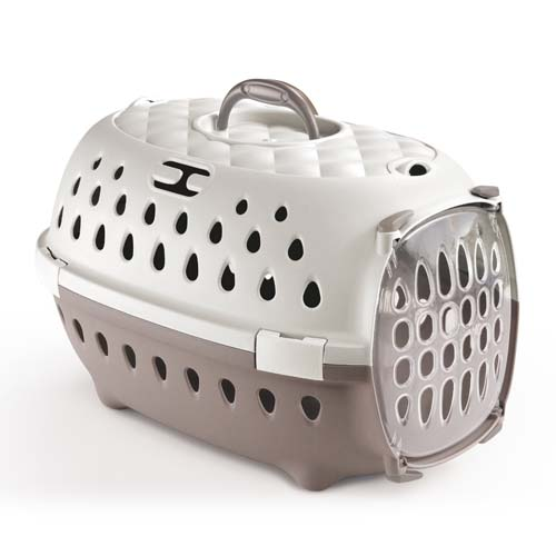 STEFANPLAST Gulliver Travel Chic light dove grey/white 50x34,5x32 cm