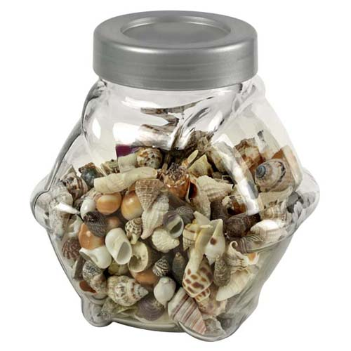 HOBBY Sea Shells decorative glass S/M 1L- dekoratívne sklo