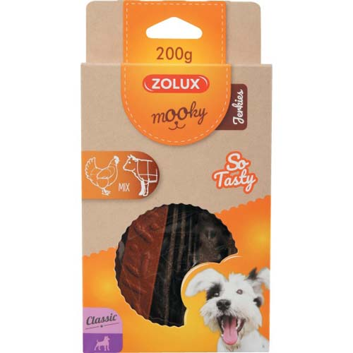 ZOLUX MOOKY CLAS JERKIES mix 200g
